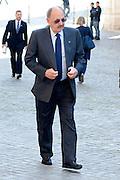 2013/04/19 Roma, arrivo dei grandi elettori in Parlamento, per la terza giornata di votazioni per l'elezione del Presidente della Repubblica. Nella foto Antonio Angelucci.<br /> Rome, arrivals of electors to Parliament, for the second election day of the President of the Republic. In the picture Antonio Angelucci - &copy; PIERPAOLO SCAVUZZO