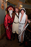 GHISLAINE CARDON; CAROLINE CARDON, ( white outfit) Svletlana and Jawek's Asylum seekers arranged marriage valentines party. Home House. 12 February 2010
