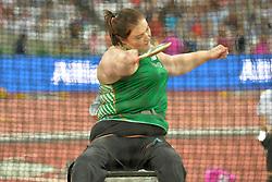 15/07/2017 : Orla Barry, F57, Discus (Women's), at the 2017 World Para Athletics Championships, Olympic Stadium, London, United Kingdom