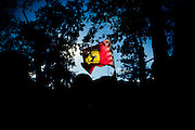 September 3-5, 2015 - Italian Grand Prix at Monza: Ferrari flags