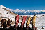 Cowboy Boots, Absaroka Mountains southwest of Livingston, Montana