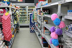 Empty Shelves in a co-operative store during the Corona Virus Pandemic<br /> Ben Booth | 20/03/2020