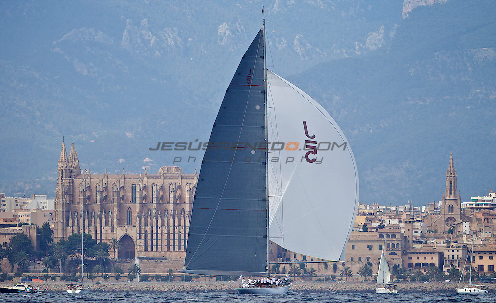 The SuperYacht Cup 2013 , coastal race, day 3 , ©jrenedo
