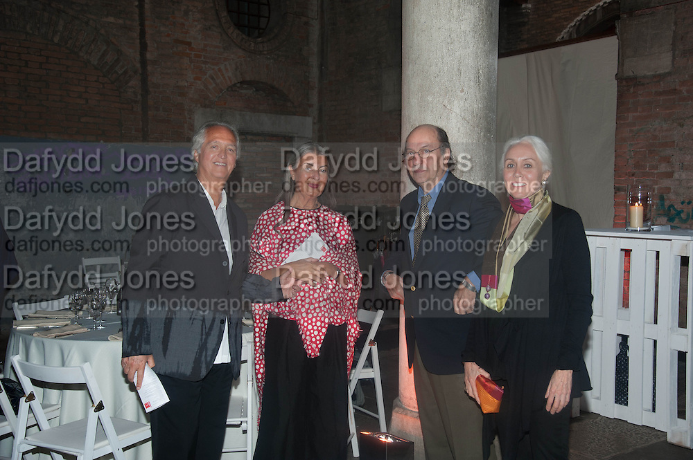 WARREN MIRO; VICTORIA MIRO, The Bronx Museum of the Arts, Tanya Bonakdar Gallery and the Victoria Miro Gallery host a reception and dinner in honor of Sarah Sze: Triple Point. Representing the United States of America at the 55th Biennale di Venezia with the Co  Commissioners of the  U. S. Pavilion Holly Block, Executive Director of the Bronx Museum of the arts  and Carey Lovelace. <br /> <br /> Rialto Fish market. Venice. . 29 May 2013