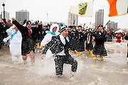 at the Special Olympics Polar Plunge Sunday, March. 2, 2014 in Chicago, ILL. Photography by Rob Hart