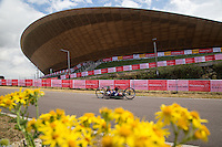 LONDON UK 29TH JULY 2016:  Clive Smith (GBR). Prudential RideLondon Handcycle Grand Prix at the London Velo Park. Prudential RideLondon in London 29th July 2016<br /> <br /> Photo: Jed Leicester/Silverhub for Prudential RideLondon<br /> <br /> Prudential RideLondon is the world&rsquo;s greatest festival of cycling, involving 95,000+ cyclists &ndash; from Olympic champions to a free family fun ride - riding in events over closed roads in London and Surrey over the weekend of 29th to 31st July 2016. <br /> <br /> See www.PrudentialRideLondon.co.uk for more.<br /> <br /> For further information: media@londonmarathonevents.co.uk