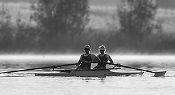 Australian Rowing Olympic Trials, March 2012, Sydney International Rowing Centre - Bronze Medallists at last years World Championships - Kate Hornsey and Sarah Tait in the Womens Pair
