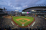 SEATTLE, WA- APRIL 24: A general view of Safeco Field during a game between the Seattle Mariners and the Minnesota Twins on April 24, 2015 at Safeco Field in Seattle, Washington. The Mariners defeated the Twins 2-0. (Photo by Brace Hemmelgarn) *** Local Caption ***
