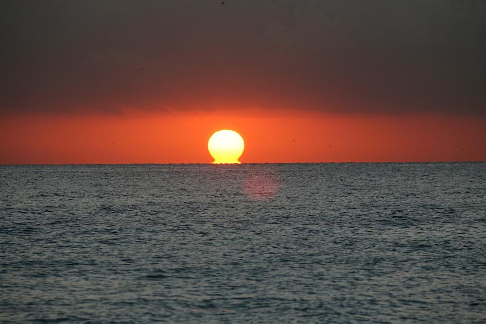 Sunrise at Sunny Isles Beach near Aventura and Ft. Lauderdale, Fl.