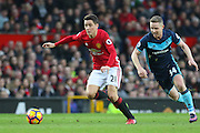 Ander Herrera Midfielder of Manchester United during the Premier League match between Manchester United and Middlesbrough at Old Trafford, Manchester, England on 31 December 2016. Photo by Phil Duncan.