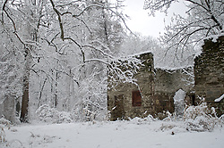 Snow took over the grounds surrounding this ruin in the Cresheim Valley in the NorthWest section of Philadelphia, PA. The old barn caries the name 'Buttercup Cottage' and is situated on Emlen Street in Mt Airy neighborhood.