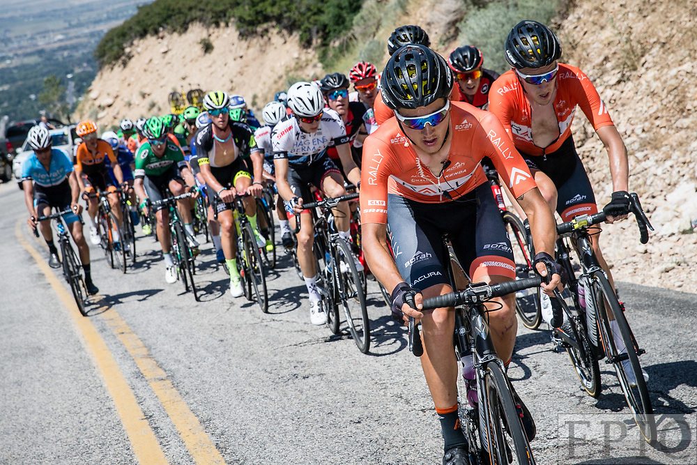 Cycling: Larry H. Miller Tour of Utah 2017 / Stage 2 - Adam De Vos (Rally)<br /> <br /> Brigham City - Snowbasin Resort (151km) / TOU / Utah  <br /> &copy; Jonathan Devich