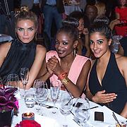 NLD/Amsterdam/20130923 - Grazia Red Carpet Awards 2013, kim Feenstra, Sylvana Simons en Top Yalcinar