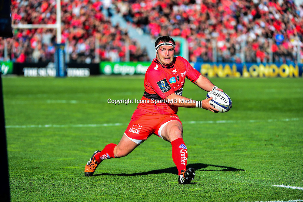 Jean Charles ORIOLI - 05.04.2015 - Toulon / Londres Wasps - 1/4Finale European Champions Cup<br />