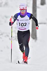 SATO Keiichi, JPN, LW8 at the 2018 ParaNordic World Cup Vuokatti in Finland