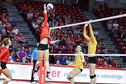 07 October 2017:   during a college women's volleyball match between the Crusaders of Valparaiso and the Illinois State Redbirds at Redbird Arena in Normal IL (Photo by Alan Look)