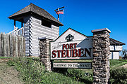 Historic Fort Steuben, Steubenville, Ohio, USA.