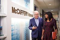 McCaffery Documentary shot.