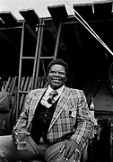 BB King backstage at Montreux 1979