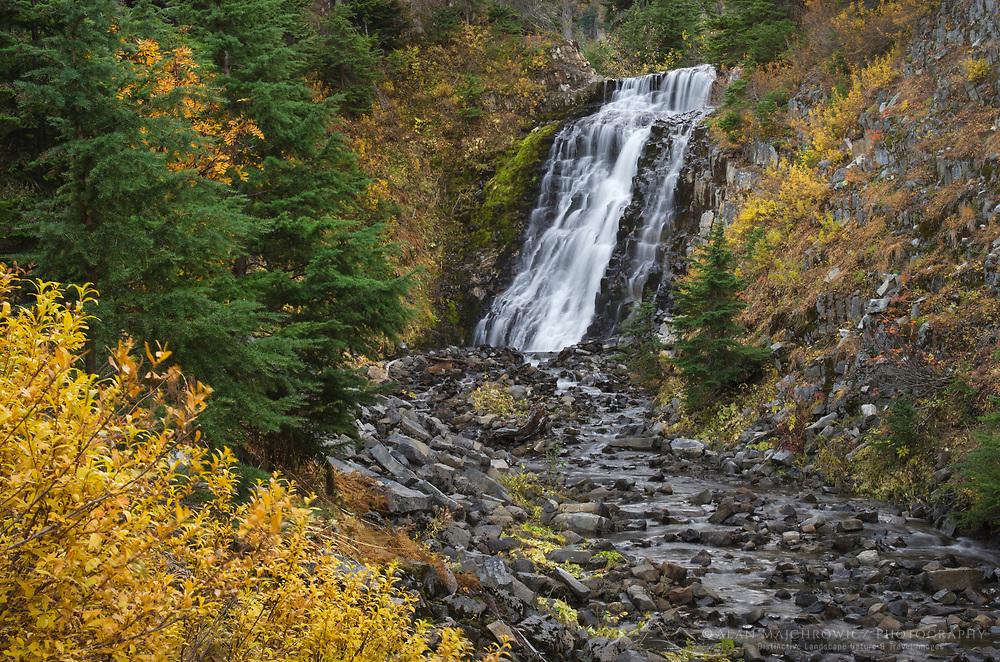 Galena Creek Falls (also known as Heather Meadows Falls), Heather Meadows Recreation Area, North Cascades Washington