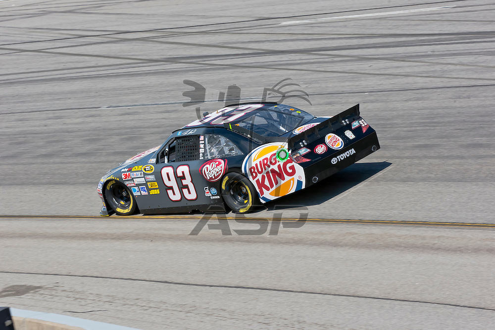 RICHMOND, VA - APR 27, 2012:  Travis Kavapil (93) and his crew practice for the Capital City 400 Presented by Virginia Is For Lovers at the Richmond International Raceway in Richmond, VA.
