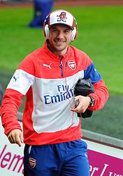 Arsenal's Lukas Podolski  - Photo mandatory by-line: Joe Meredith/JMP - Mobile: 07966 386802 - 09/11/2014 - SPORT - Football - Swanswa - Liberty Stadium - Swansea City v Arsenal - Barclays Premier League