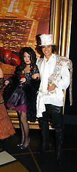 CAROLINE LI and ANDY WONG at Andy & Patti Wong's annual Chinese New year Party, this year to celebrate the Year of The Pig, held at Madame Tussauds, Marylebone Road, London on 27th January 2007.<br />