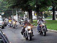 Motorcyclists ride during a Moving in Peace motorcade thru all of Camden's neighborhoods to recognize and honor the victims of violence in the city Saturday, August 12, 2017 at Farnham Park in Camden, New Jersey. (WILLIAM THOMAS CAIN / For The Philadelphia Inquirer)