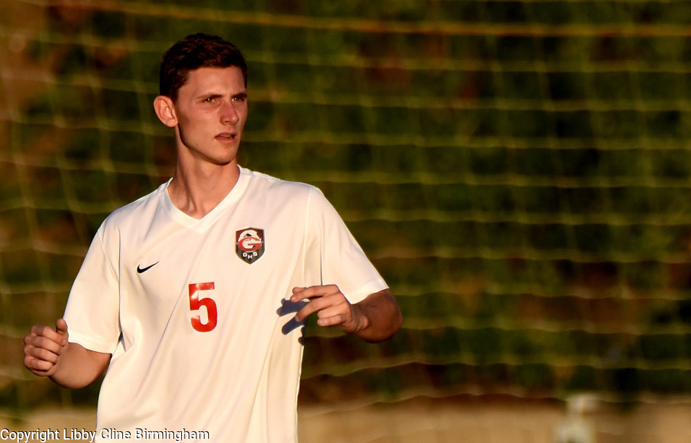 Glendora's Jacob Cullen in the first half of a first round CIF soccer prep soccer match against Colony at Citrus College in Glendora, Calif., on Friday, Feb. 16, 2018. (Photo by Libby Cline Birmingham)