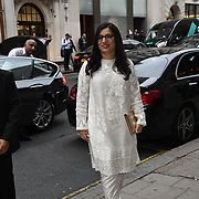 "Producter attend Photocall in London Premiere of ""Parwaaz Hai Junoon"" (Soaring Passion) as featured on SKY, ITV at The May Fair Hotel, Stratton Street, London, UK. 22 August 2018."