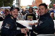 Jamie Whincup & Paul Dumbrell (Red Bull Holden Racing Team). Supercheap Auto Bathurst 1000 -Virgin Australia Supercars Championship Round 13. Mount Panorama, Bathurst NSW on Wednesday 3 October 2018. Photo Clay Cross / photosport.nz
