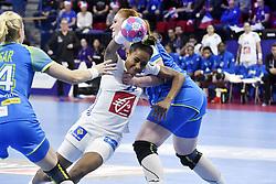 France player Estelle Nze Minko during the Women's european handball chanmpionship preliminary round, Slovenia vs France. Nancy, Fance -02/12/2018//POLEMILE_01POL20181202NAN016/Credit:POL EMILE / SIPA/SIPA/1812021731