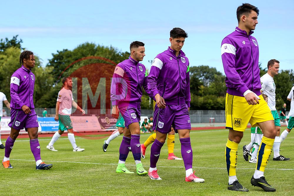 Callum O'Dowda and Josh Brownhill of Bristol City - Rogan/JMP - 08/07/2017 - Footes Lane - Guernsey - Guernsey FC v Bristol City - Pre-season Friendly.