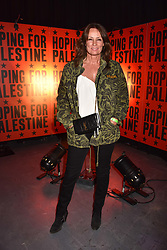 """Tricia Ronane at """"Hoping For Palestine"""" Benefit Concert For Palestinian Refugee Children held at The Roundhouse, Chalk Farm Road, England. 04 June 2018. <br /> Photo by Dominic O'Neill/SilverHub 0203 174 1069/ 07711972644 - Editors@silverhubmedia.com"""