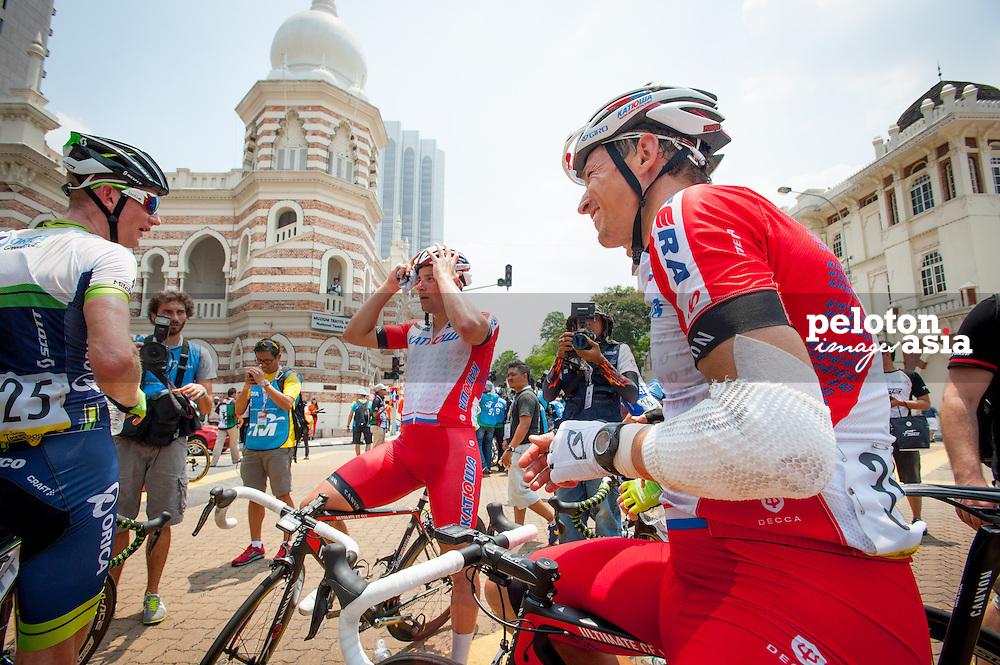 2014 Le Tour de Langkawi / stage3 / langkawi / KATUSHA / Crash