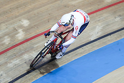 March 1, 2019 - Pruszkow, Poland - Katie Archibald (GBR) omnium tempo race on day three of the UCI Track Cycling World Championships held in the BGZ BNP Paribas Velodrome Arena on March 01, 2019 in Pruszkow, Poland. (Credit Image: © Foto Olimpik/NurPhoto via ZUMA Press)