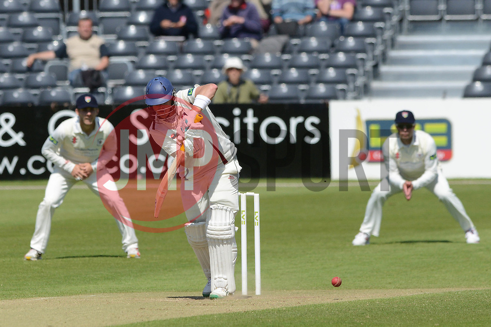 Sam Northeast of Kent scores a half-century - Photo mandatory by-line: Dougie Allward/JMP - Mobile: 07966 386802 - 21/05/2015 - SPORT - Cricket - Bristol - County Ground - Gloucestershire v Kent - LV=County Cricket