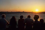 Turkey. Istanbul. Costa Victoria in  port ,          /  Le bateau costa Victoria dans le port d'Istamboul, Turquie    Mediteranee   /      L004558  /  R00402  /  P111968
