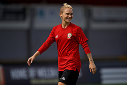 NEWPORT, WALES - Thursday, August 30, 2018: Wales' Jessica Fishlock during a training session at Rodney Parade ahead of the final FIFA Women's World Cup 2019 Qualifying Round Group 1 match against England. (Pic by David Rawcliffe/Propaganda)
