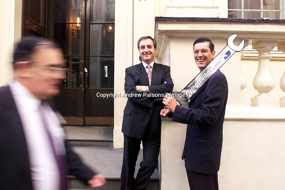 Domestic and General Group PLC. L to R: John Ritchie (Deputy Managing Director and Tim Scrivener (M.D) .Photo by Andrew Parsons/i-Images.All Rights Reserved ©Andrew Parsons/i-images.See Instructions.