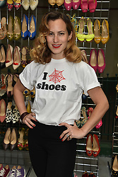 Charlotte Olympia at the #SheInspiesMe Car Boot Sale in aid of Women for Women International held Brewer Street Car Park, Soho, London England. 6 May 2017.<br /> Photo by Dominic O'Neill/SilverHub 0203 174 1069 sales@silverhubmedia.com