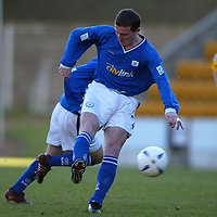 St Johnstone v Raith Rovers...24.01.04<br />Chris Hay opens the scoring for St Johnstone<br /><br />Picture by Graeme Hart.<br />Copyright Perthshire Picture Agency<br />Tel: 01738 623350  Mobile: 07990 594431