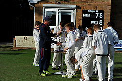 Kettering  Town Under 13s Cicket Club, ECB Under 13s National Club Championship, for Ken Barrington Cup, County Final Day, Wollaston Cricket Club, Sunday 28th June 2015Kettering Under 13s, ECB Under 13s National Club Championship, for Ken Barrington Cup, County Final Day, Wollaston Cricket Club, Sunday 28th June 2015