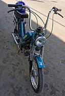 Small motorcycle in Cardenas, Matanzas, Cuba.
