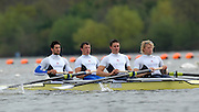 Caversham, Great Britain, GBR M4- left to right, Tom JAMES, Steve WILLIAMS, Peter REED and Andy TRIGGS HODGE, GB Rowing media day at the Redgrave Pinsent Rowing Lake. GB Rowing Training centre. Tue. 29.04.2008  [Mandatory Credit. Peter Spurrier/Intersport Images] Rowing course: GB Rowing Training Complex, Redgrave Pinsent Lake, Caversham, Reading