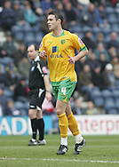 Preston - Saturday February 14th, 2009:  Jason Shackell of Norwich City during the match against Preston North End in the Coca Cola Championship match at Deepdale, Preston. (Pic by Michael Sedgwick/Focus Images)