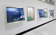 Empty displaycase, National Museum,  Damascus, Syria
