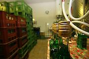 Jindrichuv Hradec/Tschechische Republik, Tschechien, CZE, 31.08.2007: Das Unternehmen Hill&acute;s Liquere S.R.O. wurde 1920 von Albin Hill  gegr&uuml;ndet. Die Tradition wurde 1947 von Radomil Hill weitergef&uuml;hrt - heute wird das Unternehmen von seiner Tochter Ilona Musialova geleitet. Hill&acute;s Absinth wird in der s&uuml;db&ouml;hmischen Stadt  Jindrichuv Hradec produziert. <br /> <br /> Jindrichuv Hradec/Czech Republic, CZE, 31.08.2007: Albin Hill established Hill's Liguere in 1920. He started out as a wine wholesaler and soon after he began producing his own liquor and liqueurs. In 1947 his son Radomil Hill continues this tradition and today his daughter Ilona Musialova is leading the company.