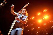 Photos of hard rock band Tesla performing on September 18, 2010 at Verizon Wireless Amphitheater