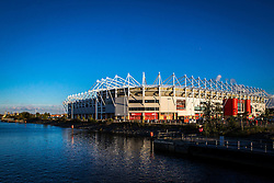 A general view of the outside of The Riverside Stadium, home to Middlesbrough - Mandatory by-line: Robbie Stephenson/JMP - 16/10/2016 - FOOTBALL - Riverside Stadium - Middlesbrough, England - Middlesbrough v Watford - Premier League